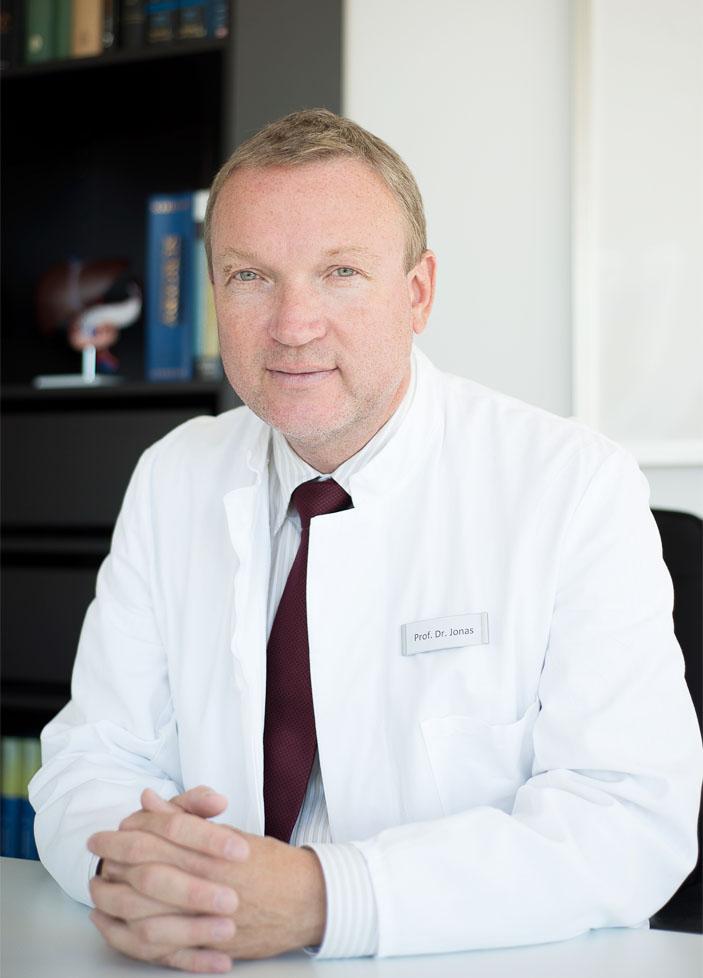 Prof. Dr. Sven Jonas - Allgemein- und Viszeralchirurgie in der 310KLINIK