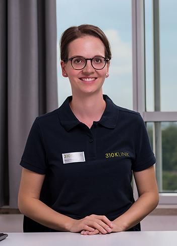 Maria Hausmann, Fachärztin der Abteilung für Allgemein- und Viszeralchirurgie